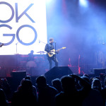 ANAHEIM, CA - JANUARY 25:  OK GO performs onstage at  NAMM Show 2018 at the Anaheim Convention Center on January 25, 2018 in Anaheim, California.  (Photo by Jesse Grant/Getty Images Getty Images for NAMM)